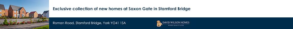 David Wilson Homes, Saxon Gate, Stamford Bridge