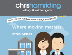 Get brand editions for Chris Hamriding Lettings & Estates, Congleton