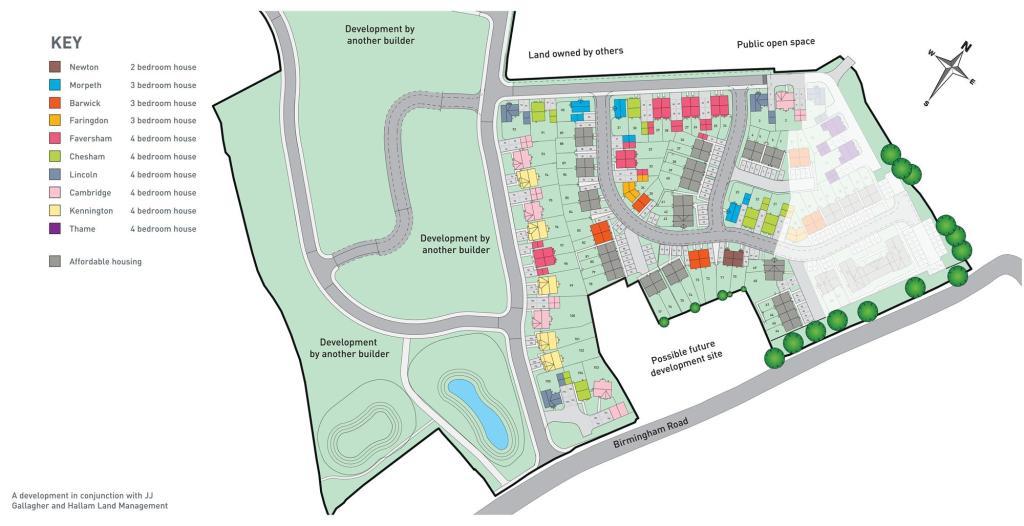 Norton Farm New Homes Development By Barratt Homes