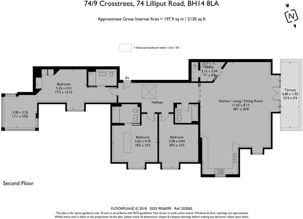 74/9 Crosstrees - Floorplan
