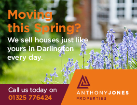 Get brand editions for Anthony Jones Properties, Darlington