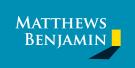 Matthews Benjamin, Kendalbranch details