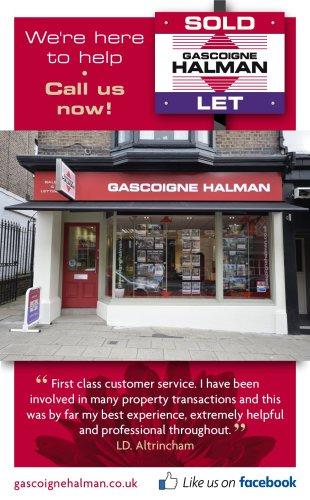 Gascoigne Halman, Altrinchambranch details