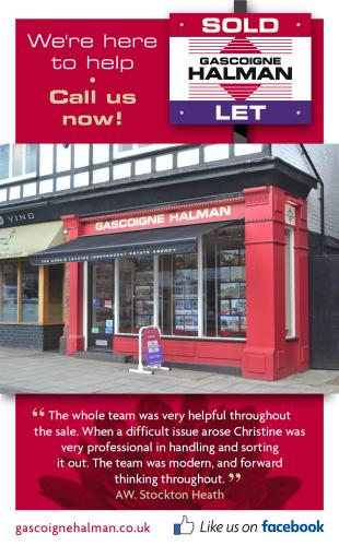 Gascoigne Halman, Stockton Heathbranch details