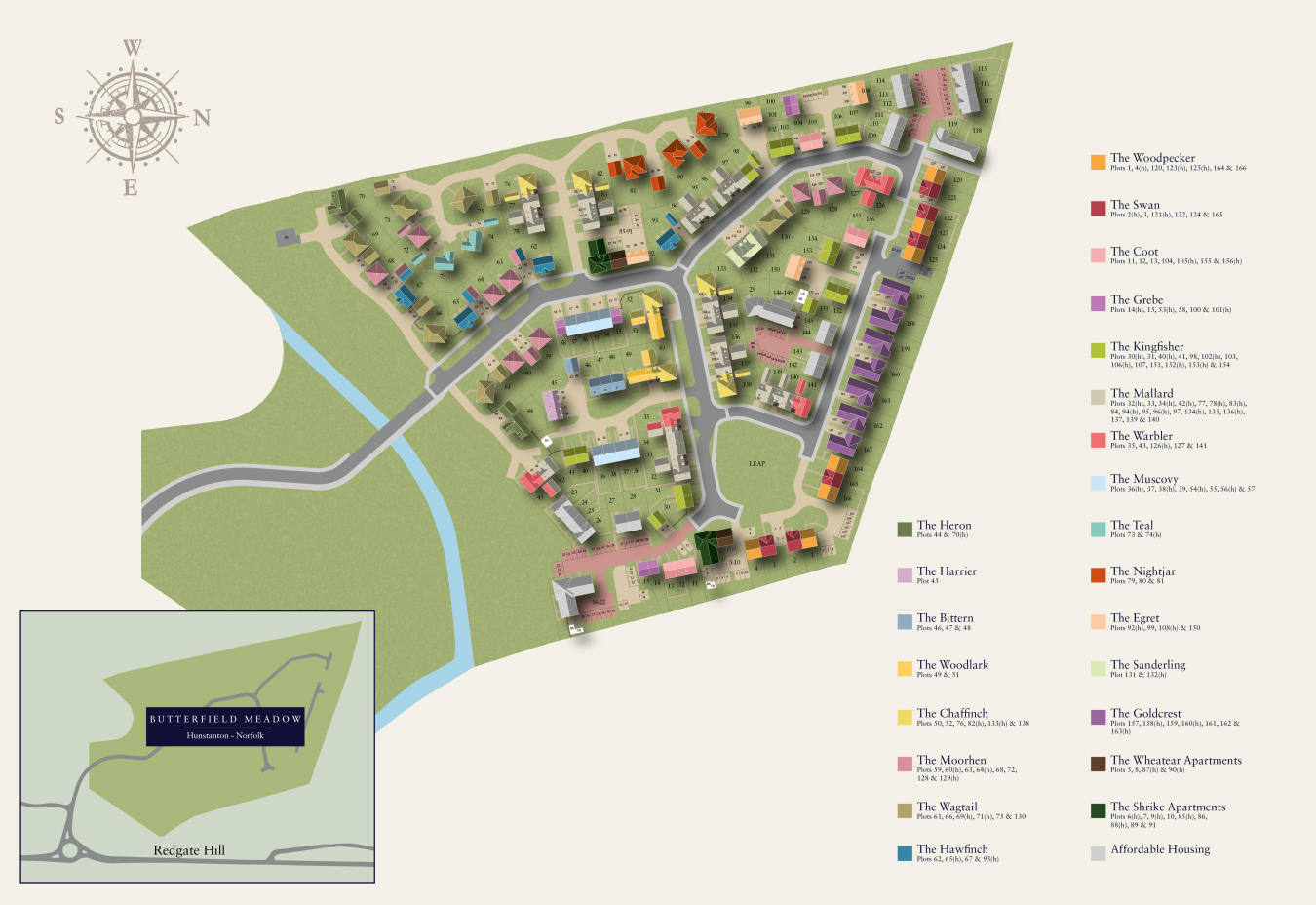 erfield Meadow New Homes Development by Hopkins Homes on