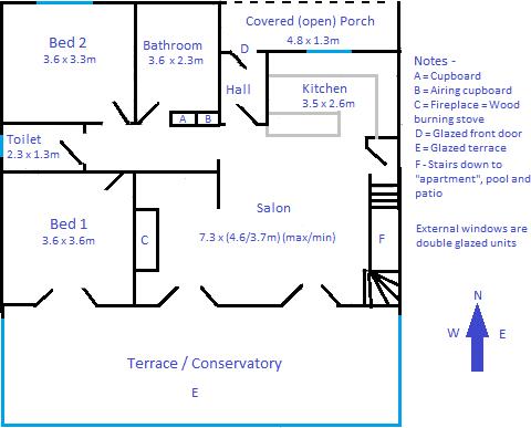 Floorplan - Upstairs