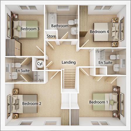 TWWS Geddes 5 Second Floor