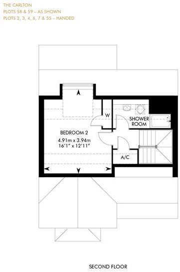 The Carlton, Second Floor