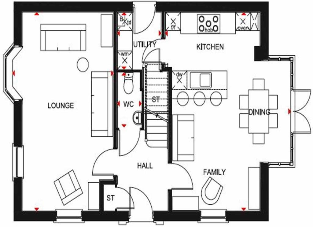 Cornell GF floor plan