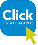 Click estate Agents, Preston logo