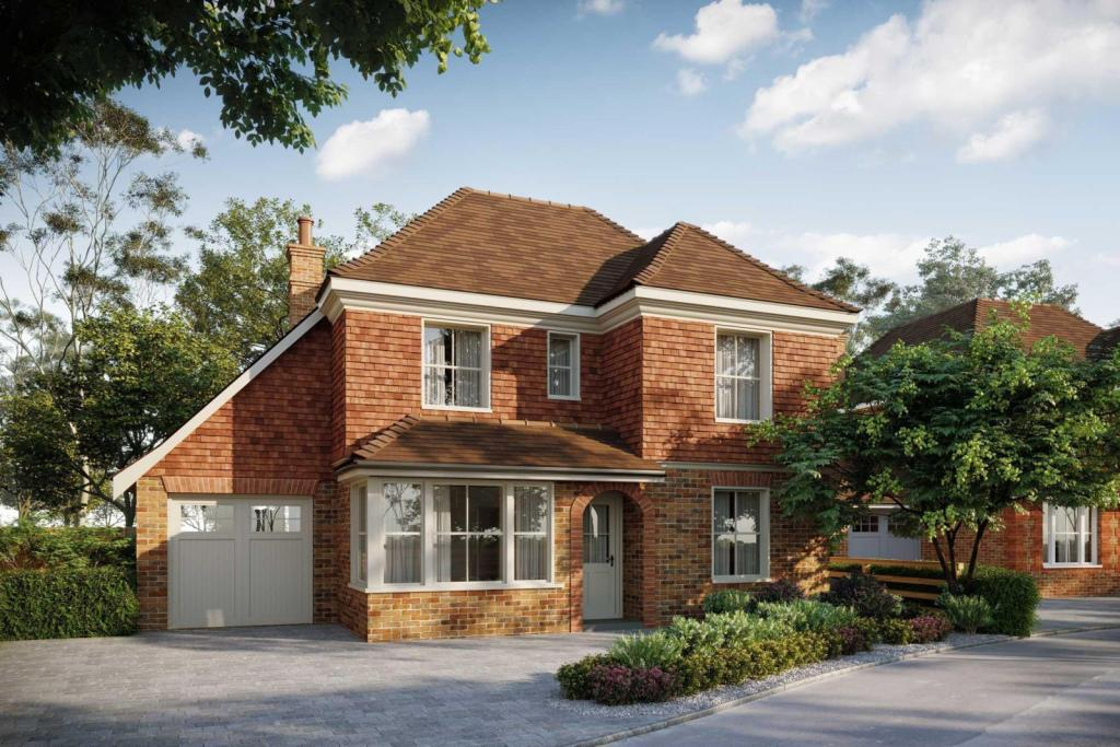 4 bedroom detached house for sale in Nearing completion ...