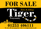 Tiger Sales & Lettings, Blackpool, Highfield Road logo