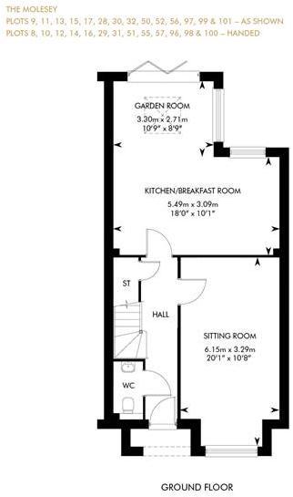 The Molesey, Ground Floor