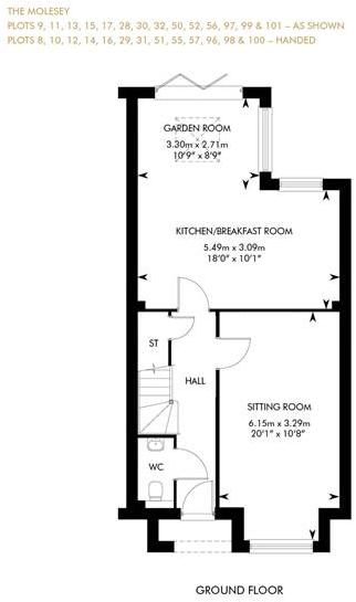 The Molesey - Showhome Sale & Leaseback, Ground Floor