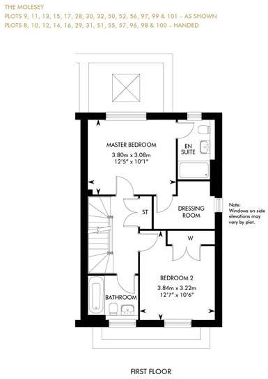 The Molesey - Showhome Sale & Leaseback, First Floor