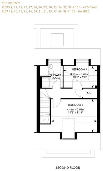 The Molesey - Showhome Sale & Leaseback, Second Floor