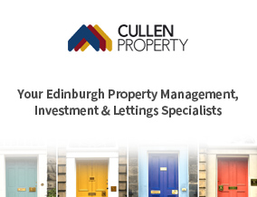Get brand editions for Cullen Property Ltd, Edinburgh