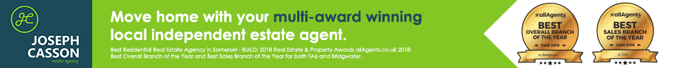 Get brand editions for Joseph Casson Estate Agency, Bridgwater