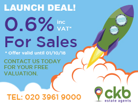 Get brand editions for CKB Estate Agents, Eltham