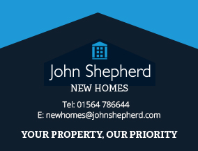 Get brand editions for John Shepherd, West Midlands - New Homes