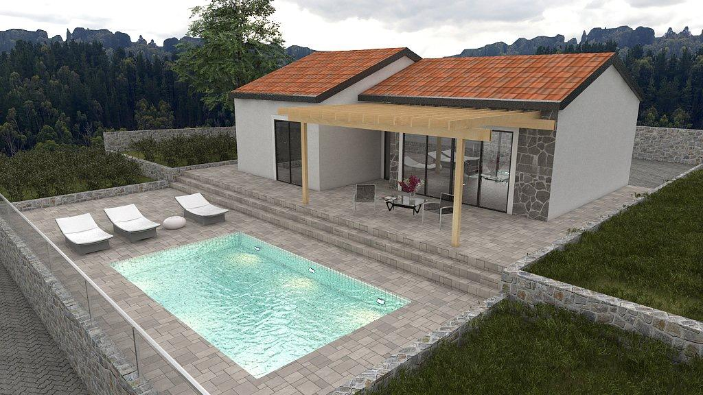 Detached home in Necujam, Split-Dalmatia