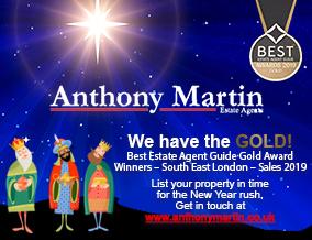 Get brand editions for Anthony Martin Estate Agents, Chislehurst