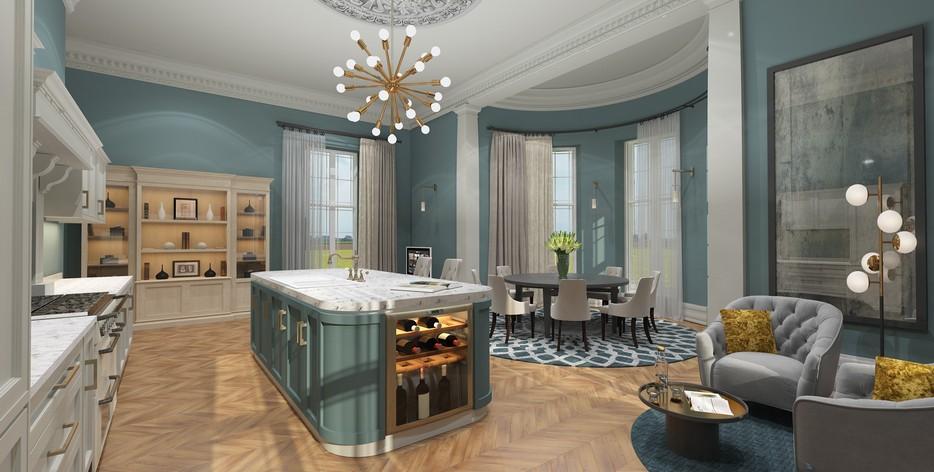 Astounding Mansion Gates New Homes Development By Ashcourt Contracts Interior Design Ideas Helimdqseriescom