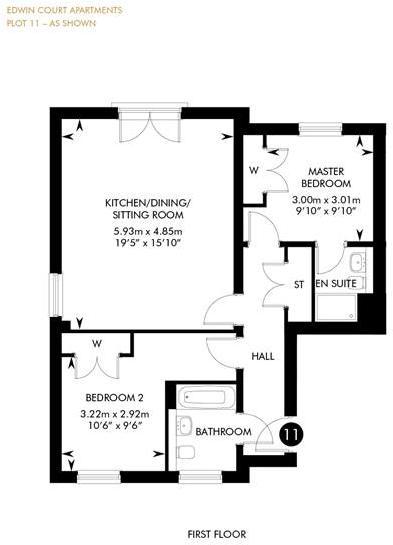 Edwin Court - First Floor, First Floor