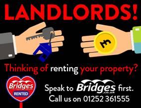 Get brand editions for Bridges Estate Agents, Aldershot - Lettings