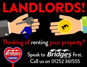 Get brand editions for Bridges Estate Agents, Frimley - Lettings