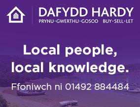 Get brand editions for Dafydd Hardy, Llandudno