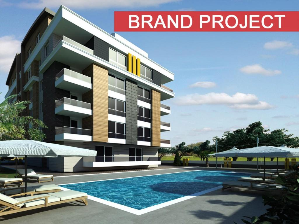 2 bed new Apartment in Konyaalti, Antalya...