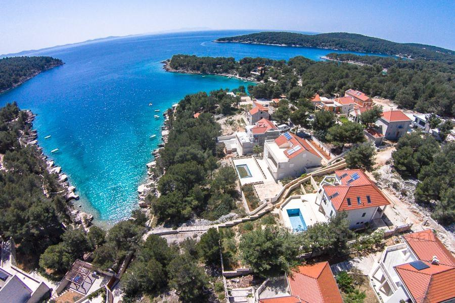 new development in Supetar, Brac Island...