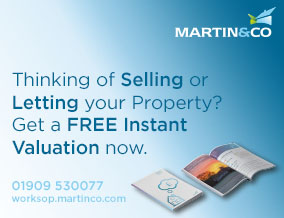 Get brand editions for Martin & Co, Worksop - Lettings & Sales