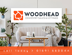 Get brand editions for Woodhead Sales & Lettings, Oswestry