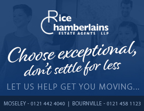 Get brand editions for Rice Chamberlains LLP, Moseley