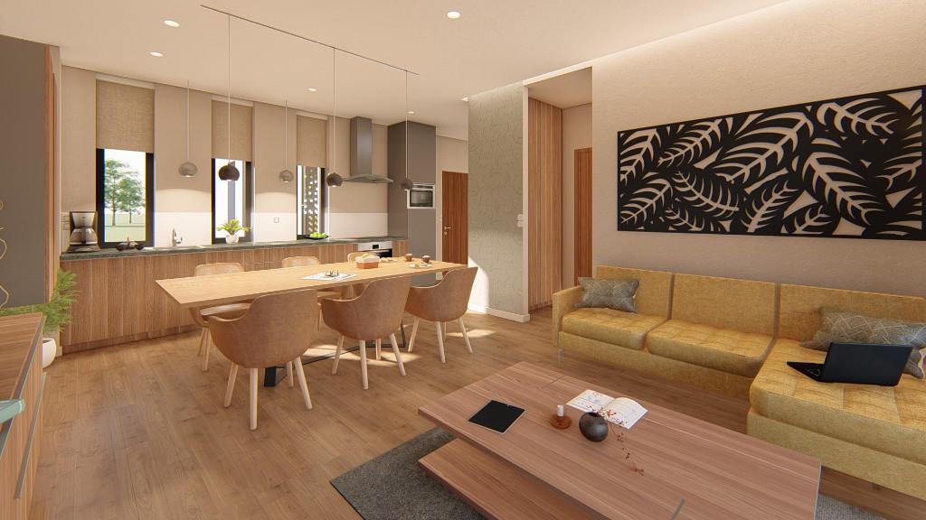 2 bed new Apartment in Zalacsany, Zala