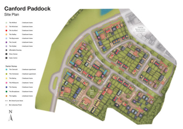 Pure Gym Poole >> Contact Canford Paddock New Homes Development by David Wilson Homes