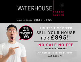 Get brand editions for Waterhouse Estate Agents, Manchester