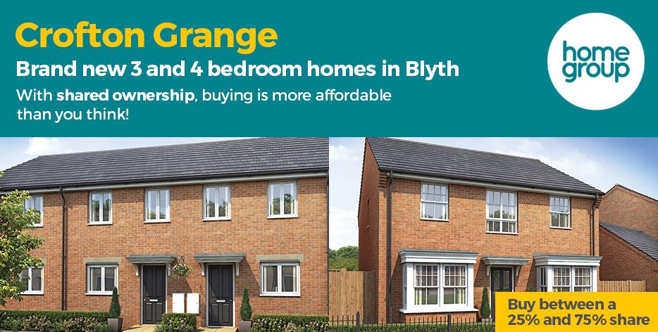 Crofton Grange New Homes Development by Home Group