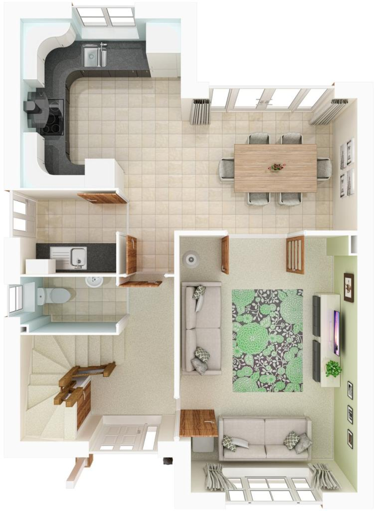 Ground floor CGI