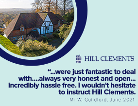 Get brand editions for Hill Clements, Guildford