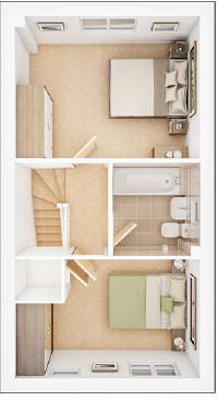 Parva Place_Canford- first floor plan