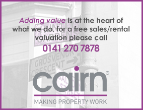 Get brand editions for CAIRN LETTING & ESTATE AGENCY, Glasgow