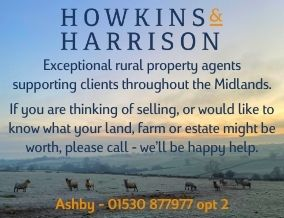 Get brand editions for Howkins & Harrison LLP, Ashby-de-la-zouch Rural