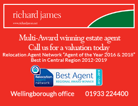 Get brand editions for Richard James Estate Agents, Wellingborough Lettings