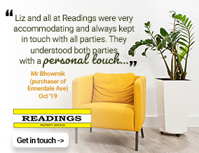 Get brand editions for Readings Property Services, Elm Park - Lettings