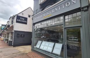 Charles Stratton, Gidea Parkbranch details