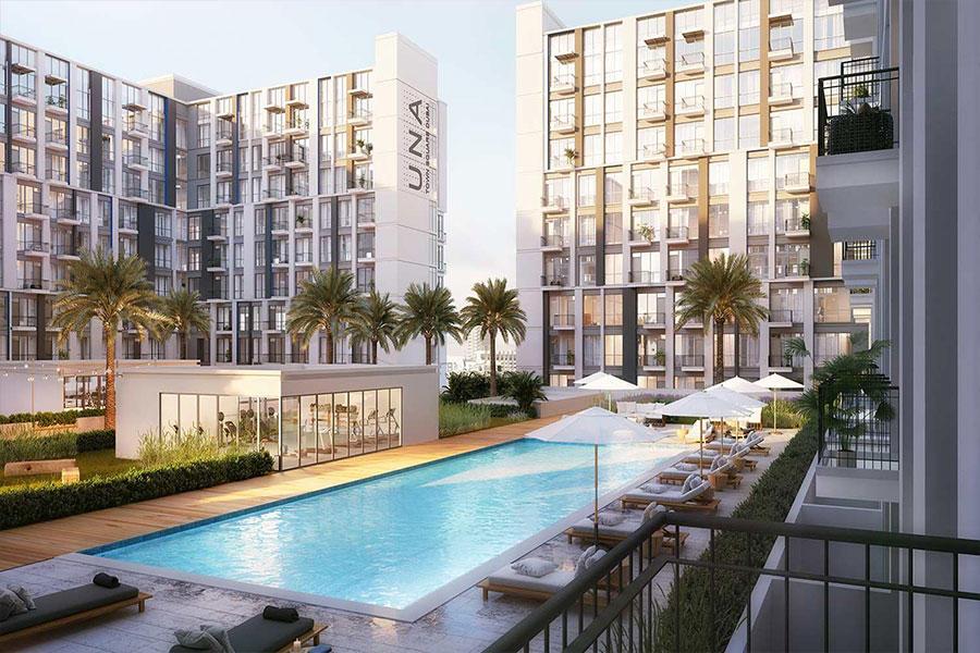 Dubai Studio apartment