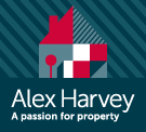 Alex Harvey Estate Agents, Powered by Keller Williams logo